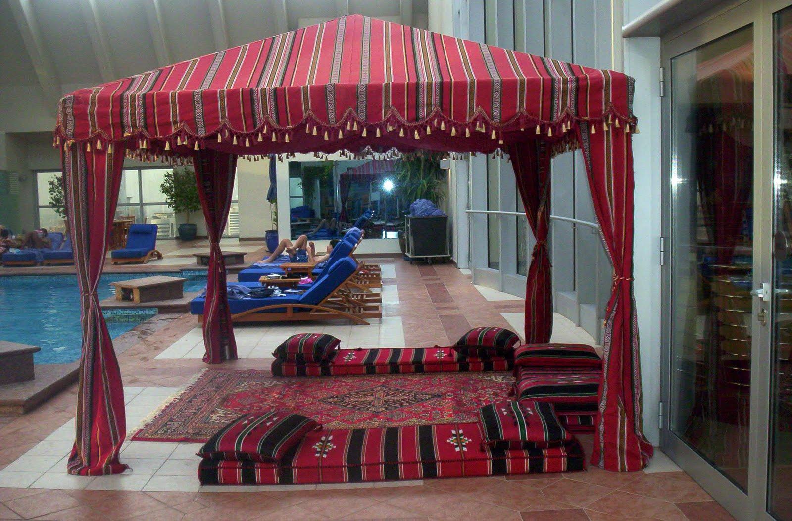 Arabian Tradition Tent Abu Dhabi Dubai Uae Al